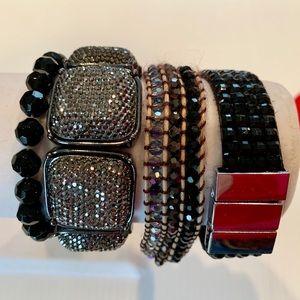 Jewelry - Bracelet collection-blacks